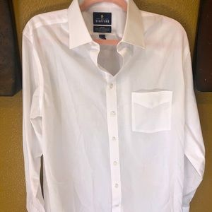 Other - Men's Stafford white dress shirt ( 373)